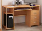 Компьютерные столы прямые