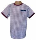 Футболки детские «Manor Born» бордовые, бренд Matalan (Англия)