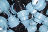 Компресійні зєднувальні деталі (зажимні фітінги) для поліетиленових труб