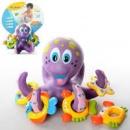 Игра детская для купания HS6301, осьминог-кольцеброс