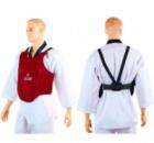 Защита груди(корпуса) для единоборств ZELART Z-4220-R красная