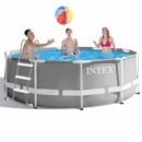Каркасный бассейн Intex 26706-1, 305 x 99 см (лестница)