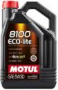 5W30 5L MOTUL ECO-LITE SAE 5W30 5L Масло 100% Синтетика SN/CF / GF-5 Dexos1