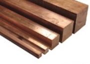 Квадрат медный ГОСТ 1535-91 размеры от 3 мм до 300 мм. марка М1, М2, М3