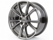 MAM A5, 8x18 ET45 5x112 66,6, palladium front polish Диски МАМ Для VW SKODA