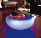 Светильник светодиодный  «Ваза для фруктов» стекло.