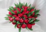 Букет из конфет Тюльпаны 35 шт
