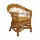 Кресло ЧФЛИ Татьяна Лоза 78х63х90 см Светло-коричневый (k00001)