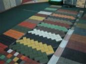 Тротуарная плитка,вибропресованная