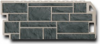 Фасадная панель Fineber Камень Цвет Серо-зеленый