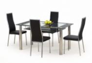 Стол со стеклянной столешницей «CRISTAL + K86»
