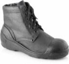 Ботинки из натуральной кожи с кожаными берцами