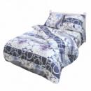 Комплект постельного белья Полуторный Moorvin Сатин 150х215 см (SAP_117_0191)