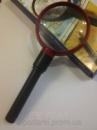 Круглая увеличительная лупа MG82010, 3х увеличение, 75мм с подсветкой