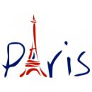 Наклейка Интерьерная Paris