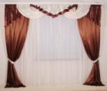 Комплект штор с ламбрекеном мод.15