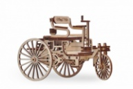 3D конструктор Wood Trick Первый автомобиль