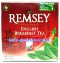 Чай Remsey English Breakfast Tea (черный Английский) 75 пакетиков.
