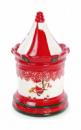 Банка для новогодних сладостей «Карусель» 1.4л керамическая