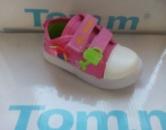 Детские кеды для девочки Tom.m на липучках цветочек