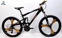 Элитный Велосипед LAMBORGHINI Q3 Black на литых дисках