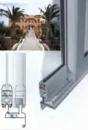 Холодные раздвижные алюминиевые окна и двери .