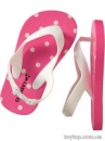Printed Flip-Flops for Baby - Pink Dots