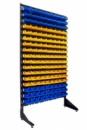 Стеллаж с ящиками и траверсами для метизов 1,8 м + 153 ящика