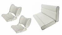 Комплект сидений для катера 1082051+1052049 светло-серый