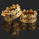Кольца,покрытие: золото 18К, родий, серебро. Ювелирная бижутерия
