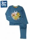 Пижамы для подростков «Энгри Бердс - Звездные войны» бирюзовые, бренд «Sun City» (Франция)
