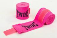 Бинты боксерские TWINS (3м) TW-5466Р розовый
