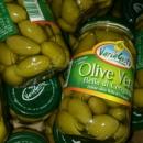 Оливки крупные с косточкой, 530 грамм, Италия
