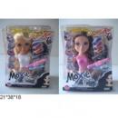 Кукла-модель Moxie MX898-2A для причесок и макияжа 2в. кор. 39*31,5*8
