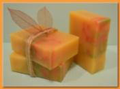 Натуральное мыло «Акварельный манго»