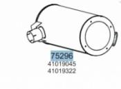 Глушник IVECO EUROTECH/EUROSTAR/EUROTECH CURSOR/STRALIS 2996125,41019045,41019322,28403 (вироб-во HOBI)