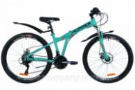 Велосипед 26« Formula HUMMER AM 14G DD St с крылом Pl 2019 (синий с оранжевым (м))