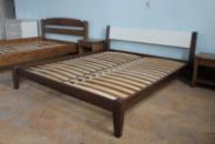 Ліжко деревяне дубове Фаворит 160*200