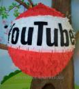 Пиньята Ютюб (YouTube), 165 см окружность