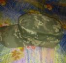 Кепка камуфлированная «Пиксель » (с регулировочной застежкой, материал хлопок, Украина)