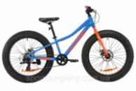 Велосипед AL 24« Formula PALADIN DD 2020 (синий с красным и оранжевым)