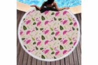 Пляжный коврик Летний Фламинго 150 см