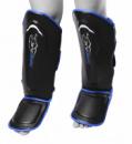 Захист гомілки і стопи PowerPlay 3052 Чорно-Синій M