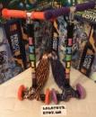 Самокат детский iTrike Maxi Макси Тигрюля 2 вида (фиолетовый, оранжевый)