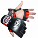 Перчатки без пальцев кожаные MMA KATAME