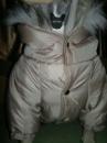 Куртка бежевая стеганная. Зимняя.
