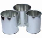 Набор «Кулич-Пасха» 3 формы Ø10, Ø11 и Ø13 из нержавеющей стали