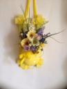 Цветочная композиция «Рамка желтая»