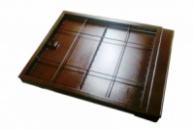 Напольный люк невидимка под плитку тип Корыто 600х800 мм