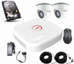 Комплект AHD видеонаблюдения Longse 2M2V c 2 камерами 2 Мп + HDD 500Гб